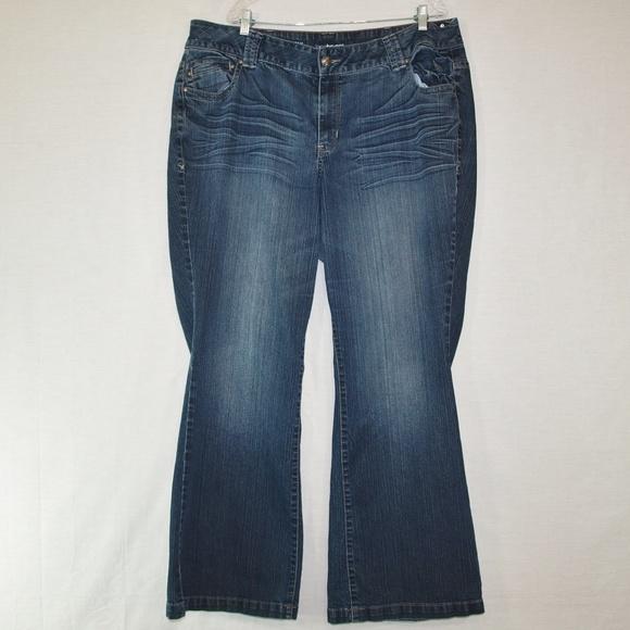 47bd9eae0bc Lane Bryant Denim - Lane Bryant Lightly Flared Jeans Size 22